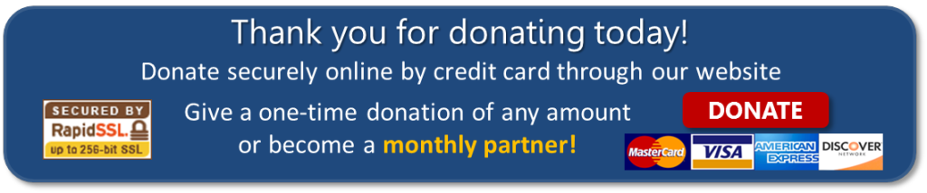 Credit Card Donation Banner 2