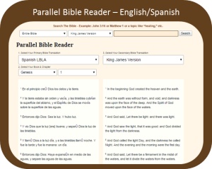 Parallel Bible in English and Spanish
