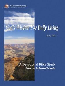 God's Wisdom for Daily Living